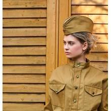 Пилотка солдатская с красной звездой